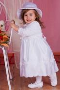B025 Sukieneczka haftowana z kokartki