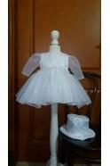 B035 Sukienka dziewczęca